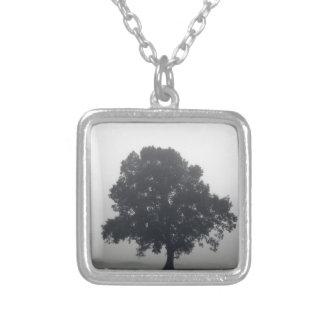 Foggy Tree Pendant