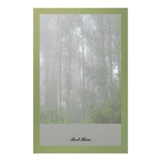 Foggy Trees Stationery