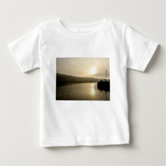 Foggy Whitby morning Baby T-Shirt