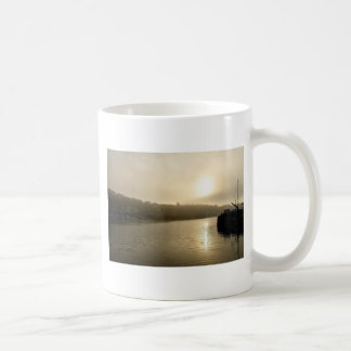 Foggy Whitby morning Coffee Mug