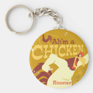 Foghorn Ah'm a chicken Key Ring