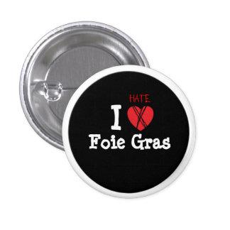 Foie gras? NOT thank you! 3 Cm Round Badge