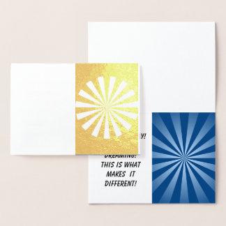 Foil Card, Standard Foil Card