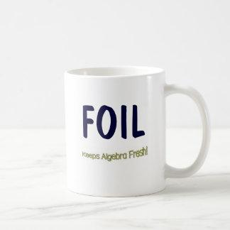 FOIL: Keeps Algebra Fresh! Coffee Mug