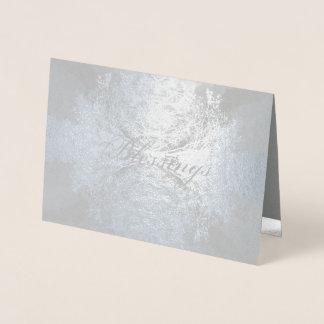 Foil Lacy Branches Foil Card