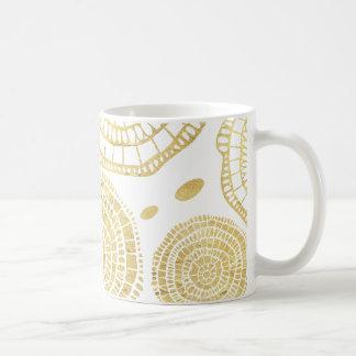 Foil Mandala Coffee Mug