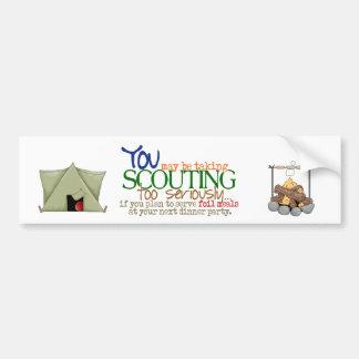 Foil Meal-bumper Bumper Sticker