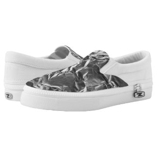 Foil Slip-On Shoes