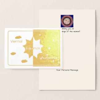 Foil Vernal/Autumnal Equinox Foil Card