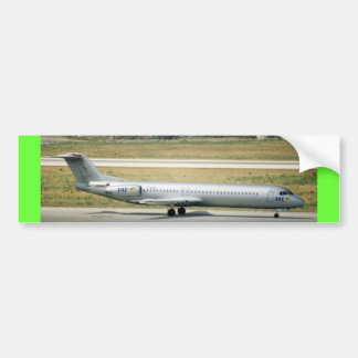 FOKKER 100 BUMPER STICKER