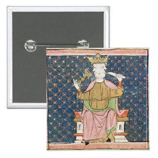 Fol.57v January: Janus 15 Cm Square Badge