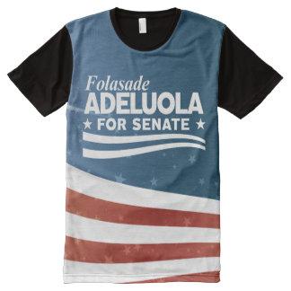 Folasade Adeluola for Senate All-Over Print T-Shirt