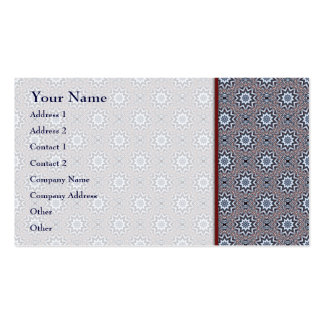 Folded Angles Art Pattern 1 • Business Card