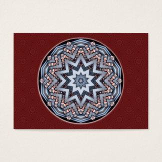 Folded Angles Mandala Artist Trading Card • ACEO