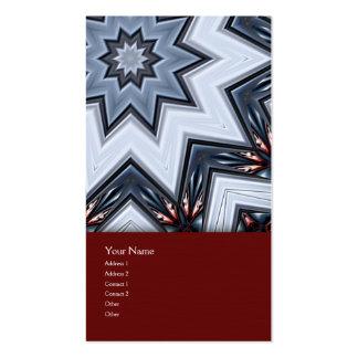 Folded Angles Mandala Business Card