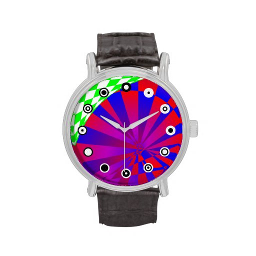Folded Dimensions (Binary Face) Watch