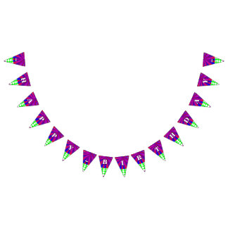 Folded Dimensions Bunting