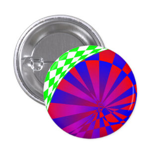 Folded Dimensions By Kenneth Yoncich 3 Cm Round Badge