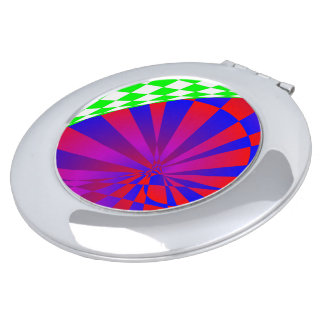 Folded Dimensions Compact Mirror