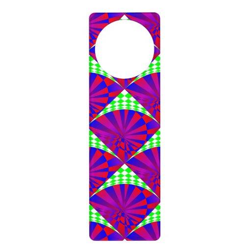 Folded Dimensions Door Hanger