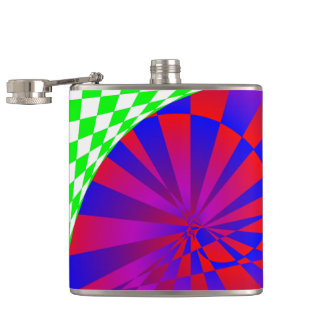 Folded Dimensions Flask