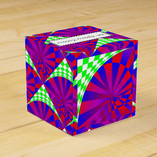 Folded Dimensions Favor Box
