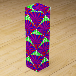 Folded Dimensions Wine Gift Boxes