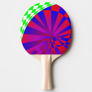 Folded Dimensions Ping-Pong Paddle