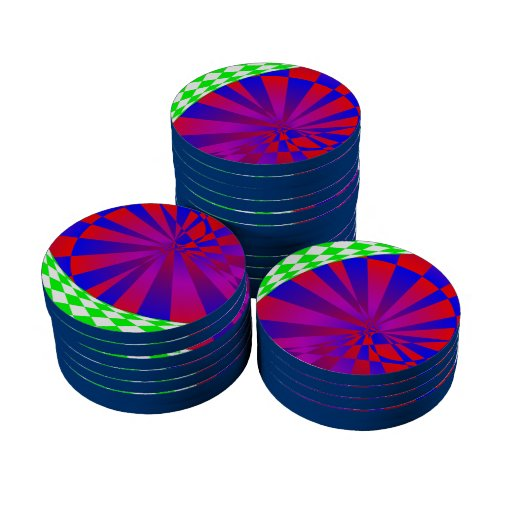 Folded Dimensions Poker Chips
