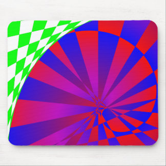 Folded Dimensions Spiral Notebook Mouse Pad
