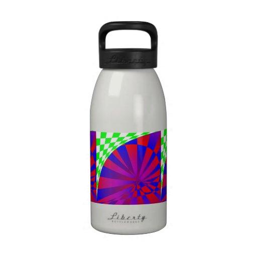 Folded Dimensions Water Bottle