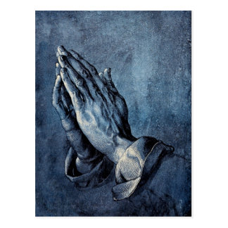 Folded Hands Prayer - Durer Postcard