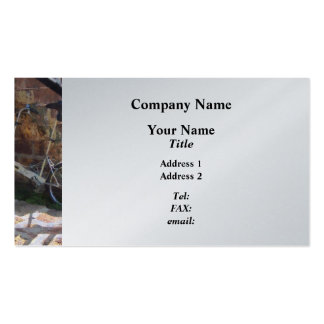 Folding Bicycle Antigua Business Card Template