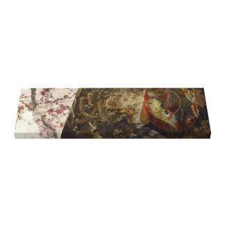 Folding Crane Blossom Canvas Print
