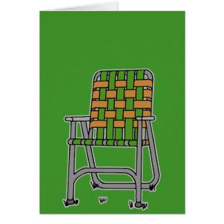 Folding Lawn Chair Card