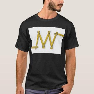 folding ruler zig zag T-Shirt
