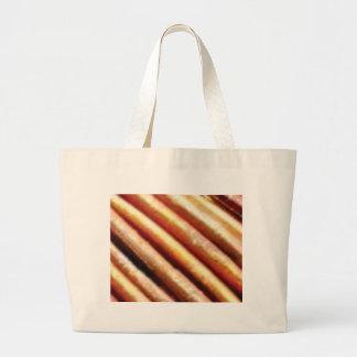 folds of copper large tote bag