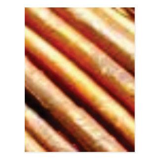 folds of copper postcard