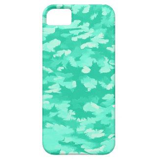 Foliage Abstract Pop Art Aqua iPhone 5 Cases