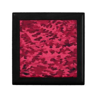 Foliage Abstract Pop Art Blush Red Gift Box