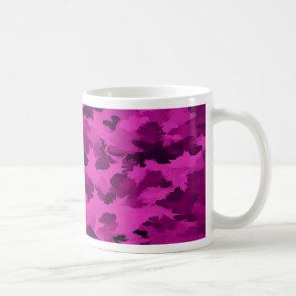 Foliage Abstract  Pop Art Violet Coffee Mug