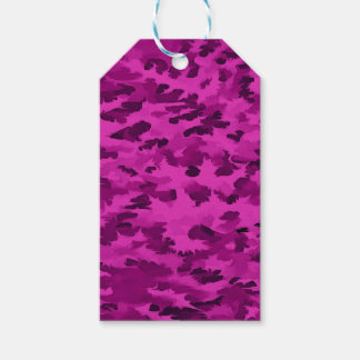 Foliage Abstract  Pop Art Violet Gift Tags