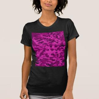 Foliage Abstract  Pop Art Violet T-Shirt