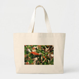 Foliage and Grass Canvas Bag