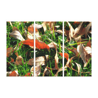 Foliage and Grass Gallery Wrap Canvas