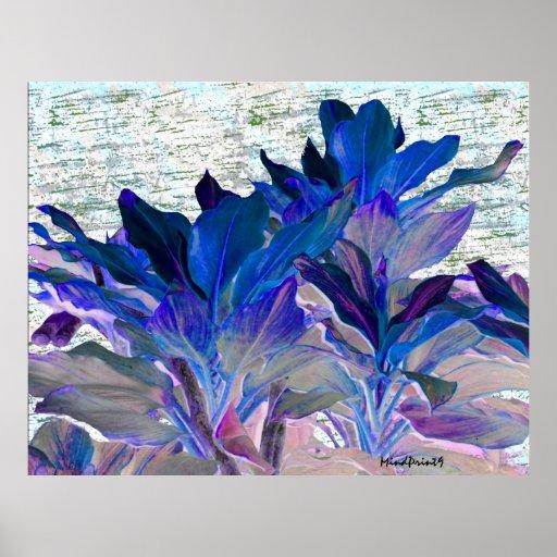 Foliage Fantasia Posters