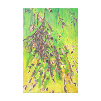 Foliage On Tree Branch Canvas Print