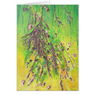 Foliage On Tree Branch Card