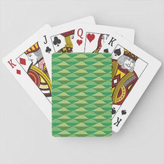 Foliage Pattern Playing Cards