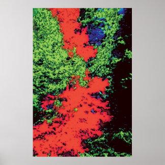 Foliage Trees dd5 Poster